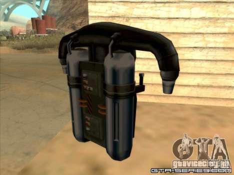 Jetpack spawner для GTA San Andreas второй скриншот