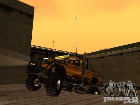 УАЗ 2760 для GTA San Andreas вид слева