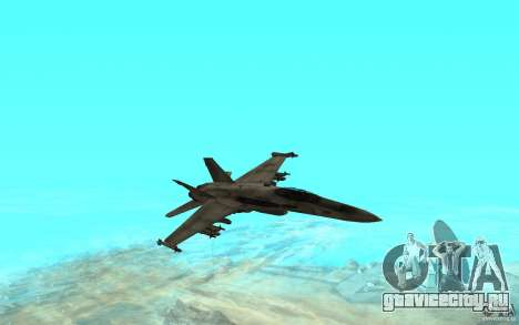 F-18 Hornet для GTA San Andreas