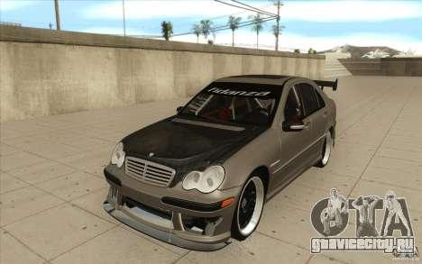 Mercedes-Benz C32 AMG Tuning для GTA San Andreas