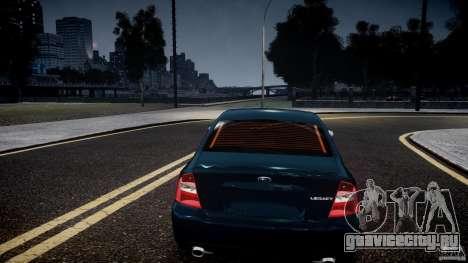 Subaru Legacy B4 GT для GTA 4 вид сбоку