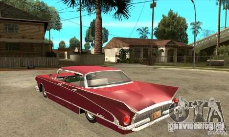 Buick LaNuit для GTA San Andreas вид сзади слева