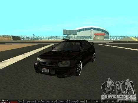Subaru Impreza WRX для GTA San Andreas