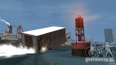 Benson boat для GTA 4 вид сзади