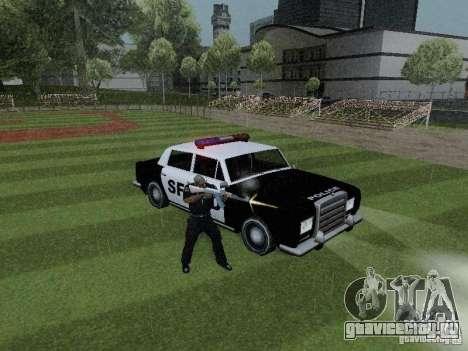 Stafford Police SF для GTA San Andreas вид справа
