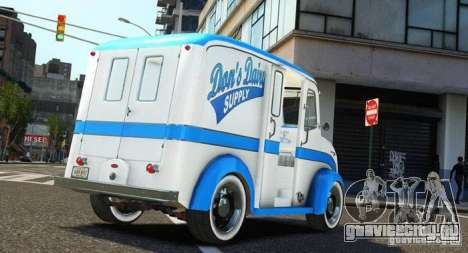 Ford Divco Milk and Icecream Van 1955-56 для GTA 4 вид слева