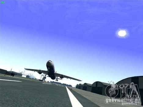 Airbus A330-300 US Airways для GTA San Andreas вид сверху
