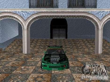 Nissan Silvia S15 Kei Office D1GP для GTA Vice City вид слева