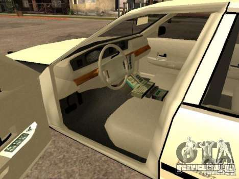 Ford Crown Victoria 1994 Police для GTA San Andreas вид сзади слева