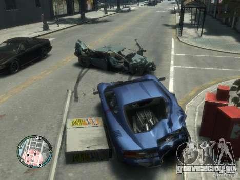 Реалистичные повреждения авто для GTA 4