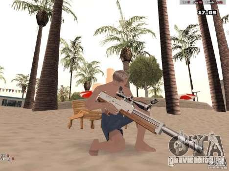 Woody Weapons Pack для GTA San Andreas четвёртый скриншот