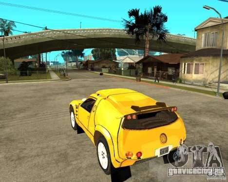 Volkswagen Touareg для GTA San Andreas вид слева