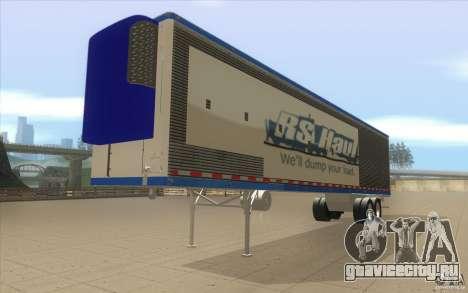 Прицеп для Truck Optimus Prime для GTA San Andreas вид справа