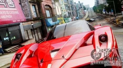 Ferrari FXX Evoluzione для GTA 4 вид слева