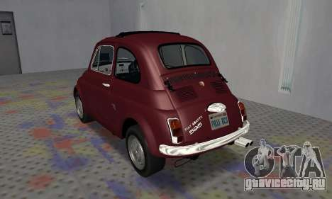 Fiat Abarth 595 SS 1968 для GTA San Andreas вид справа