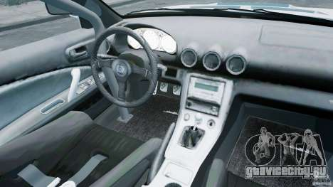 Nissan Silvia S15 для GTA 4 вид изнутри