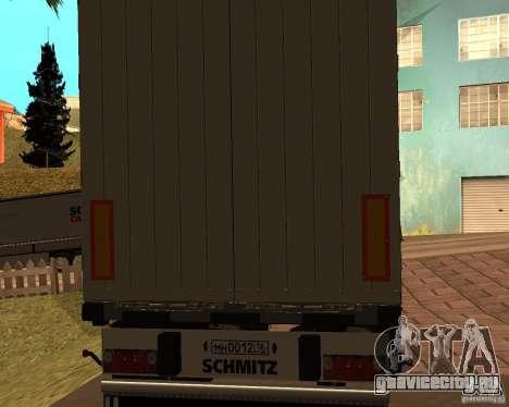 Schmitz для GTA San Andreas вид слева