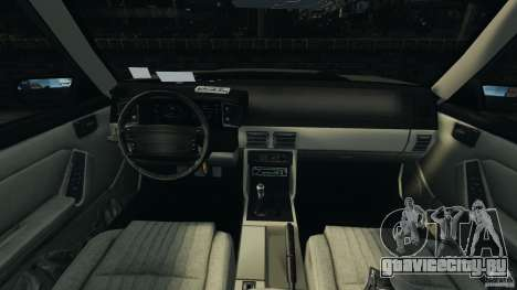 Ford Mustang GT 1993 v1.1 для GTA 4 вид сзади