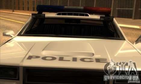 Police Hero v2.1 для GTA San Andreas вид сзади слева