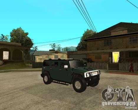AMG H2 HUMMER SUV для GTA San Andreas вид справа