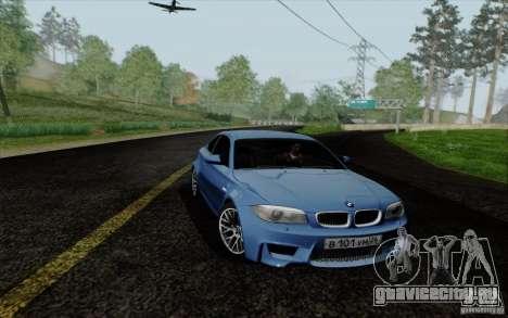 BMW 1M 2011 V3 для GTA San Andreas вид сзади слева