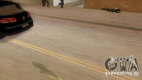 Renault Vel Satis для GTA Vice City вид сзади