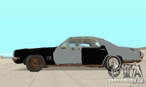 Pontiac LeMans 1970 Scrap Yard Edition для GTA San Andreas вид сзади слева
