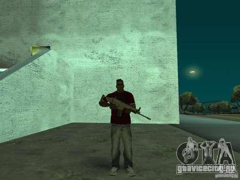 FN Scar-L HD для GTA San Andreas второй скриншот