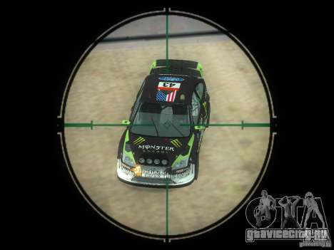 Винтовка ВСС Винторез для GTA San Andreas пятый скриншот
