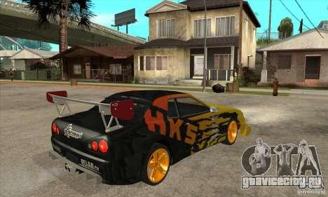 Tuneable Elegy v0.1 для GTA San Andreas вид справа