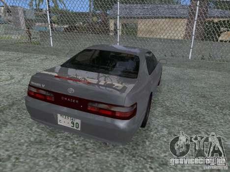 Toyota Chaser JZX90 Stock для GTA San Andreas вид слева