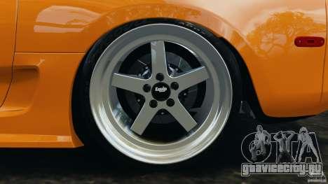 Toyota Supra Tuning для GTA 4 вид снизу