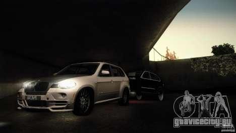 BMW X5 with Wagon BEAM Tuning для GTA San Andreas вид слева