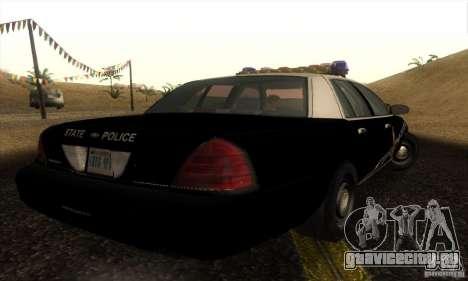 Ford Crown Victoria Idaho Police для GTA San Andreas вид слева