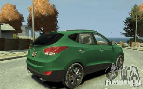 Hyundai IX35 2010 Beta для GTA 4 вид справа