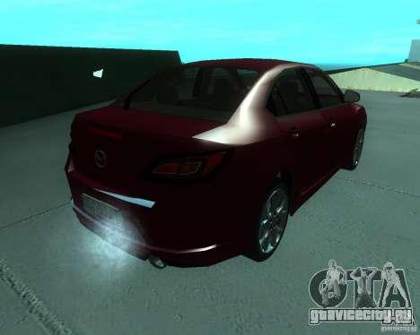 Mazda 6 2010 для GTA San Andreas вид слева
