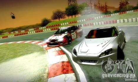 Honda S2000 Street Tuning для GTA San Andreas вид сбоку