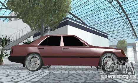 Mercedes-Benz 200D для GTA San Andreas вид справа