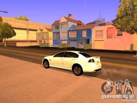 Chevrolet Lumina для GTA San Andreas вид сзади слева
