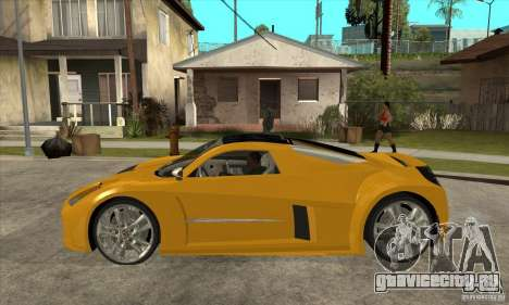 Chrysler ME Four-Twelve Concept для GTA San Andreas вид слева
