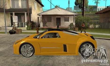 Chrysler ME Four-Twelve Concept для GTA San Andreas вид слева