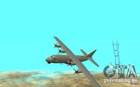 C-130H Spectre для GTA San Andreas вид слева