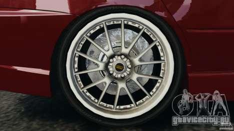 Mitsubishi Lancer Evolution 8 для GTA 4 вид изнутри