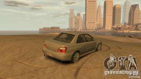Subaru Impreza для GTA 4