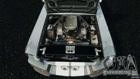 Shelby GT 500 Eleanor v2.0 для GTA 4 вид сбоку