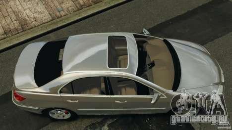 Honda Acura RL для GTA 4 вид справа