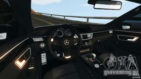 Mercedes-Benz E63 AMG 2010 для GTA 4