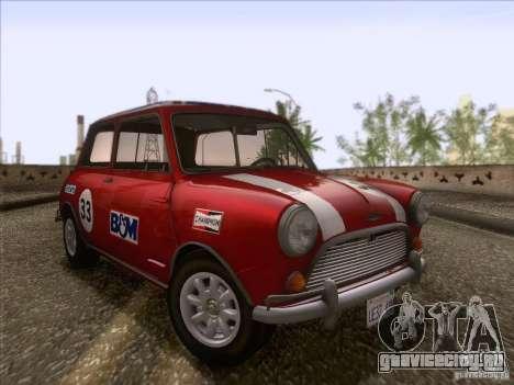 Austin Cooper S 1965 для GTA San Andreas вид сбоку