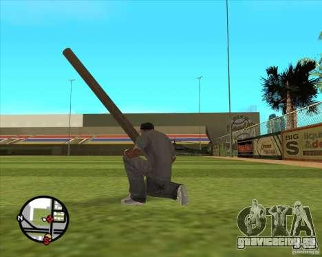 Русское бревно для GTA San Andreas третий скриншот