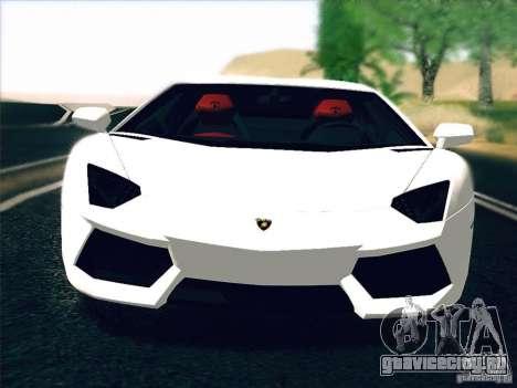 Lamborghini Aventador LP700-4 2011 V1.0 для GTA San Andreas вид слева